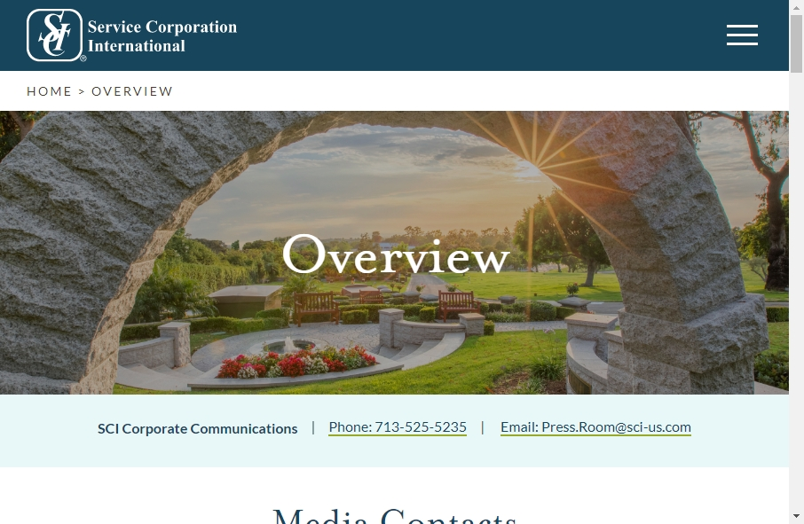 Funeral Services Website Designs 19