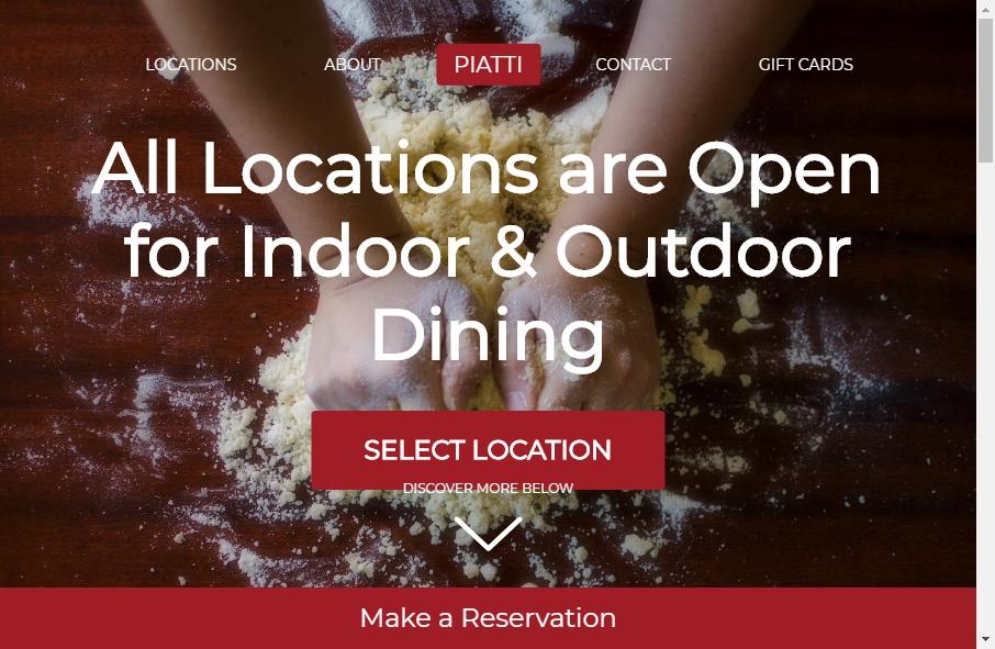 Best Restaurant Website Design Examples for 2021 19