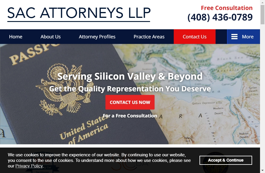 25 beautifully designed Attorneys website examples in 2021 20