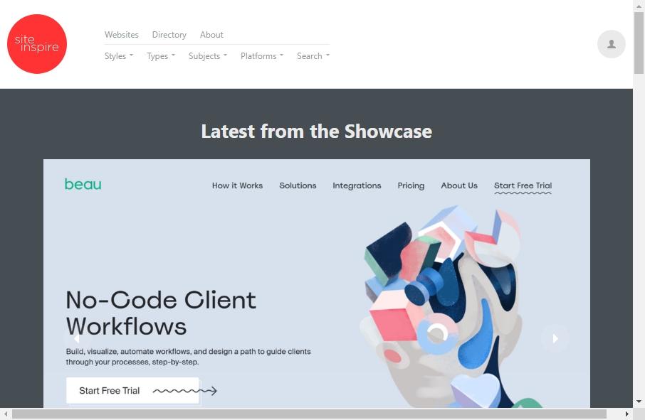 Showcase Websites Examples 20