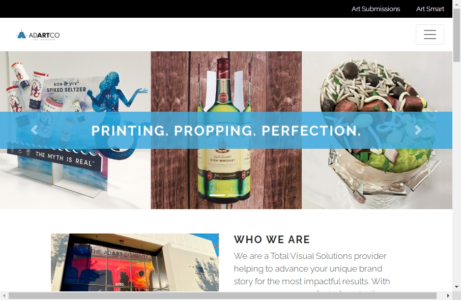 6 beautifully designed Art website examples in 2021 18