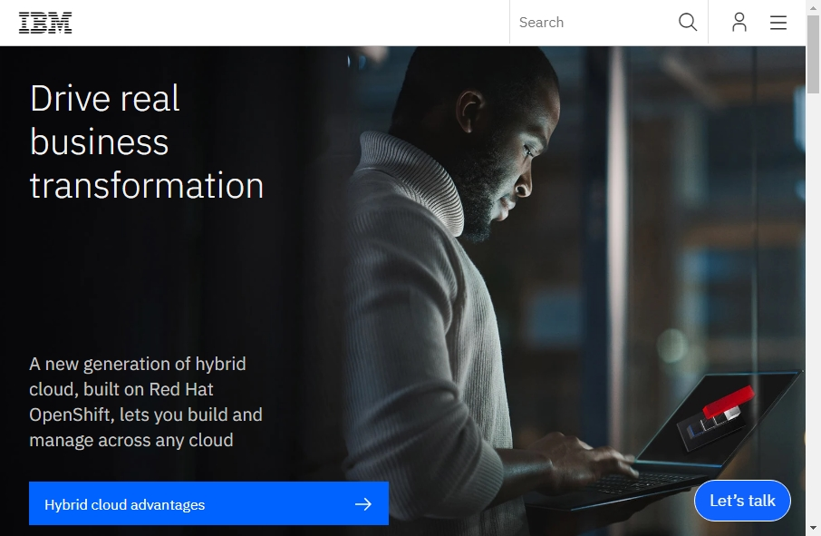 18 Great Technology Website Examples 21