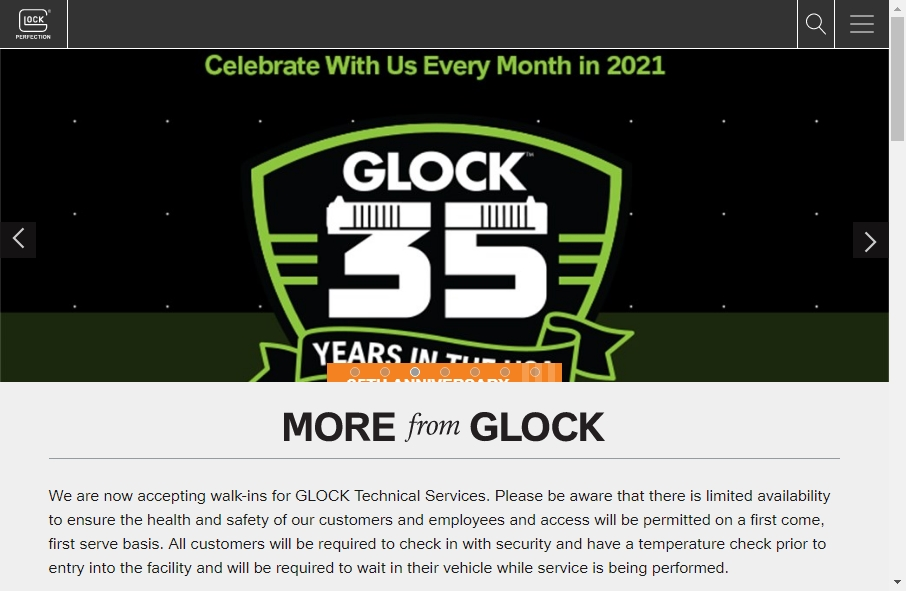15 beautifully designed Gun website examples in 2021 21