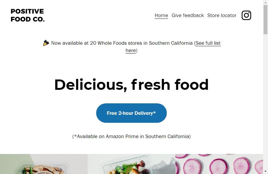 Food Website Design 20