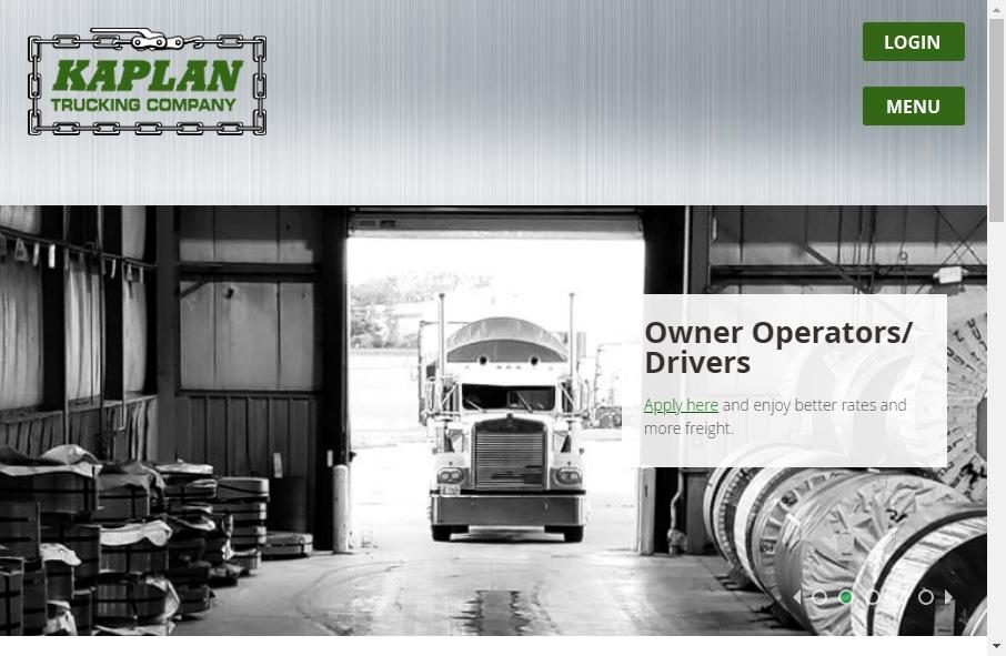 14 Amazing Trucking Website Design Examples in 2021 21
