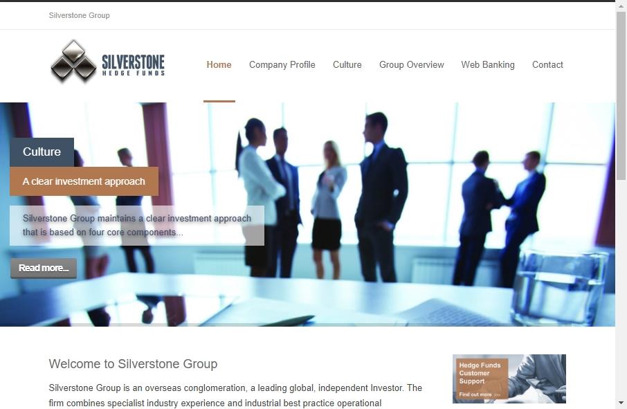 Hedge Fund Website Design 22
