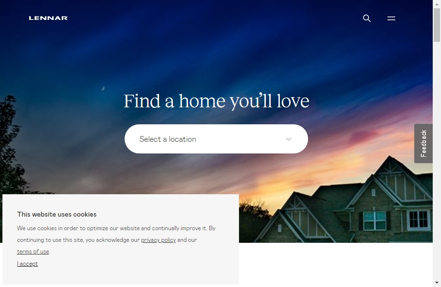 Home Builder Websites Examples 22