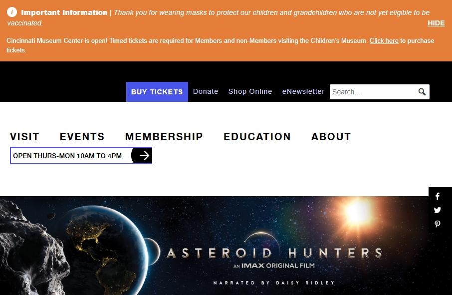 14 Amazing Museum Website Design Examples in 2021 21