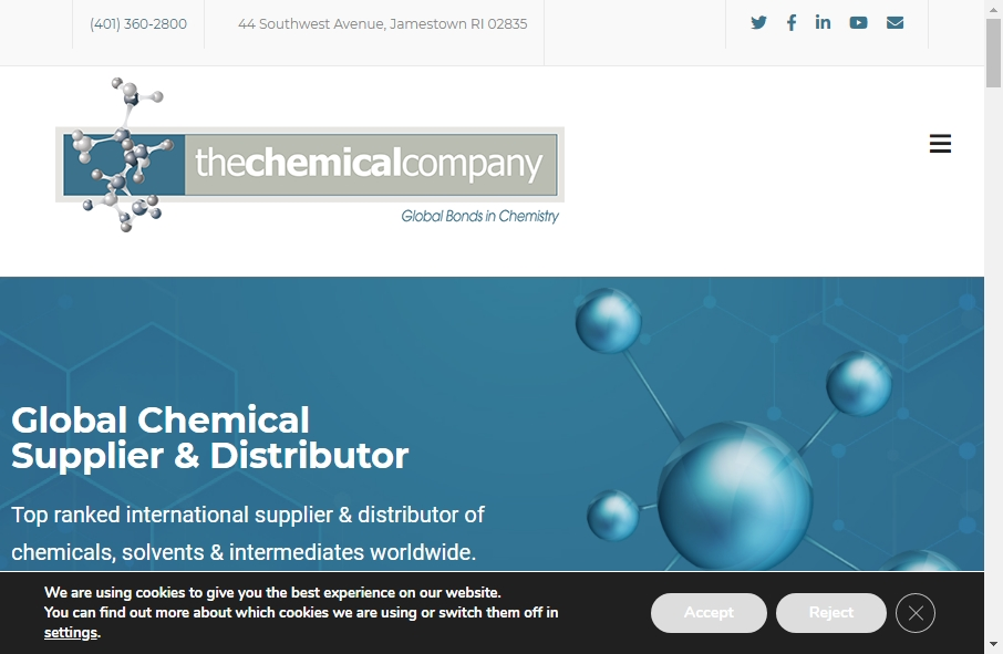 20 Examples of Chemical Websites With Fantastic Designs 21