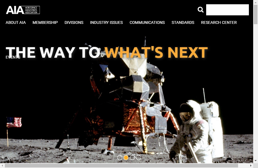 14 Examples of Aerospace Websites With Fantastic Designs 22