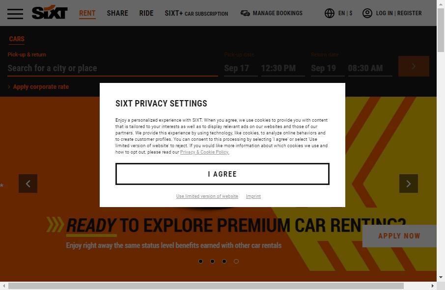 Rental Website Designs 20