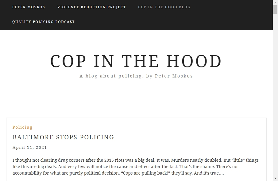 13 Examples of Inspirational Police Websites 21