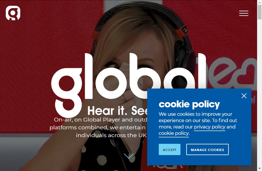 9 Examples of Inspirational Radio Websites 20