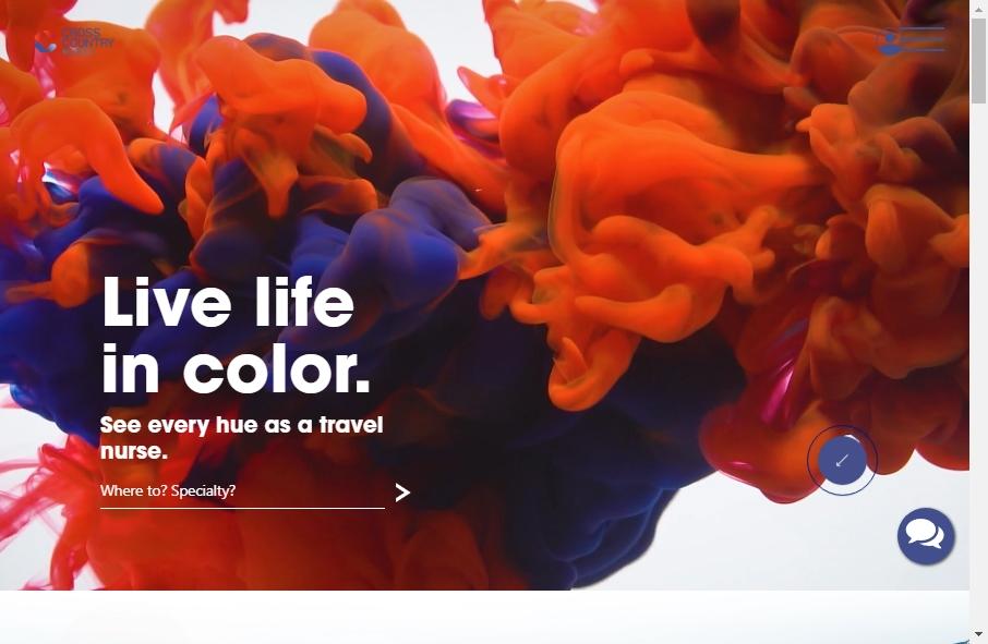 10 Amazing Nurses Website Design Examples in 2021 21