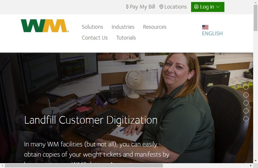 16 Examples of Inspirational Waste Management Websites 22