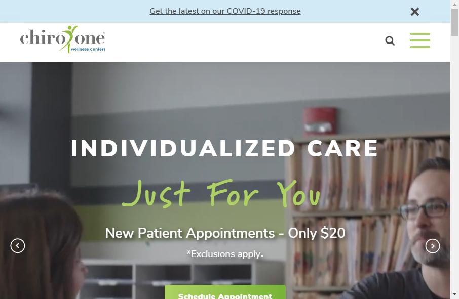 16 Great Chiropractors Website Examples 22