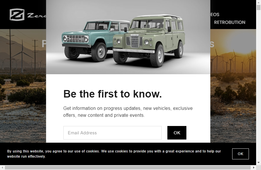 22 beautifully designed Vehicles website examples in 2021 21