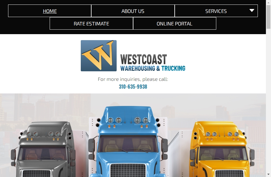 Warehousing Websites Examples 22