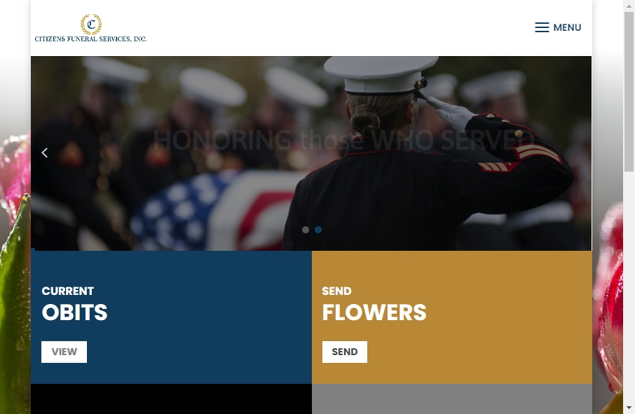 Funeral Services Website Designs 20