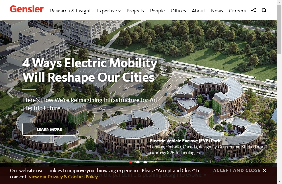 14 Examples of Architectural Websites With Fantastic Designs 22