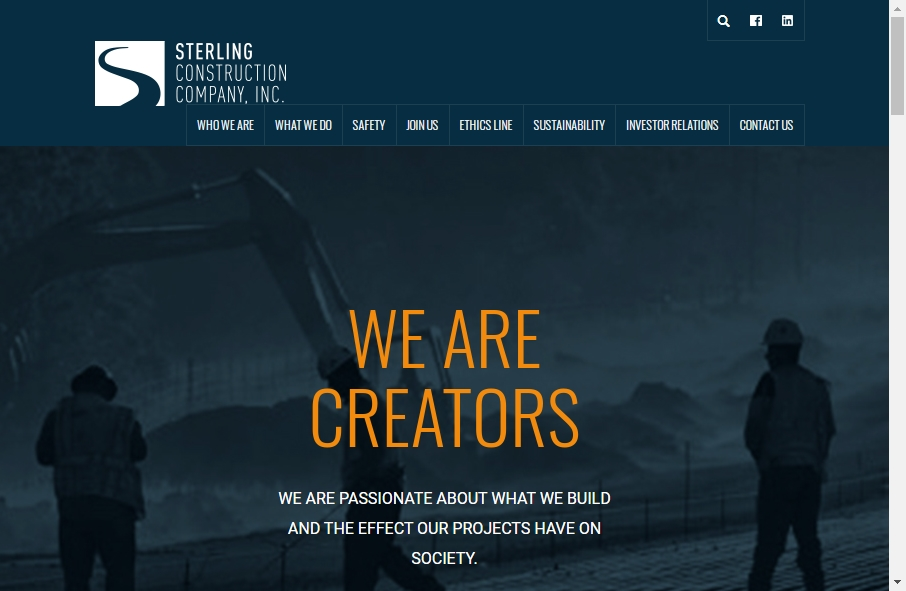 27 Examples of Construction Websites With Fantastic Designs 22