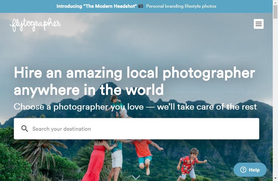 Photography Website Design 20