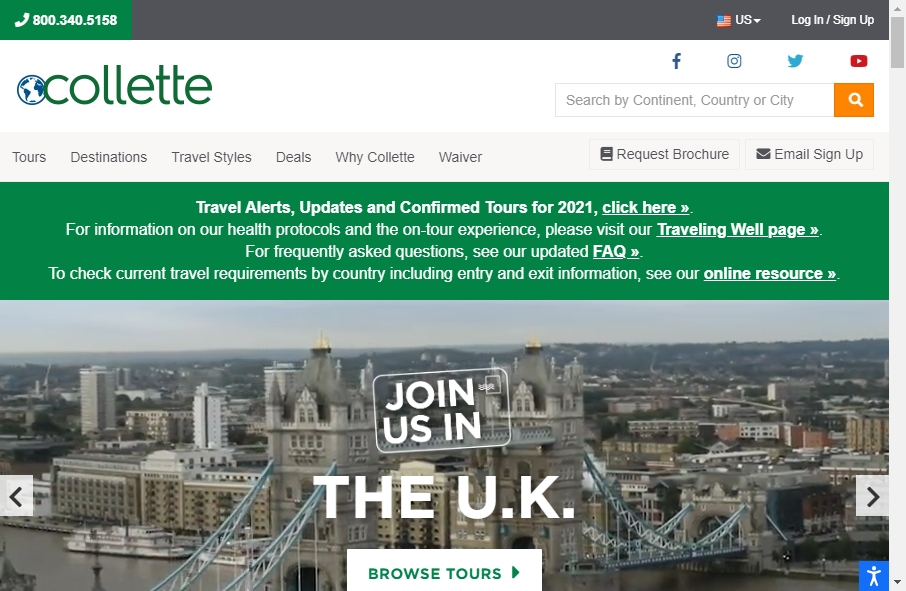 18 Best Travel Website Design Examples for 2021 21
