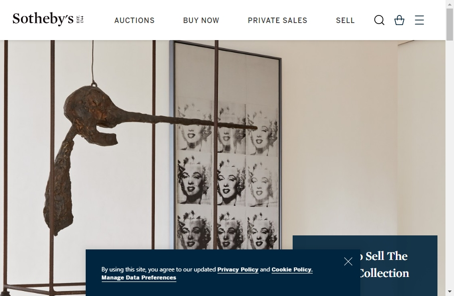 14 Great Auction Websites Examples 21