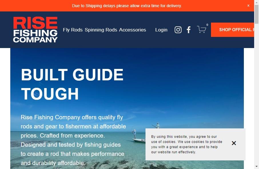 13 Best Fishing Websites Design Examples for 2021 21