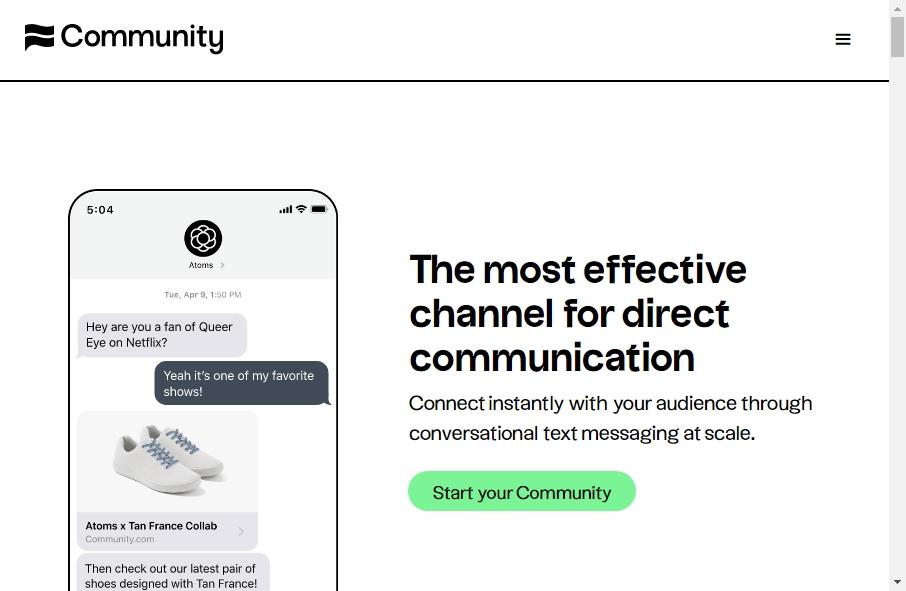 12 Great Community Website Examples 22