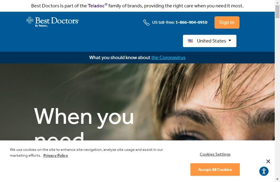 16 Best Doctor Website Design Examples for 2021 21