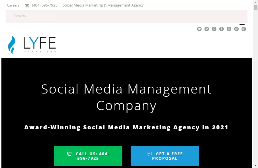 15 Examples of Social Media Websites With Fantastic Designs 22