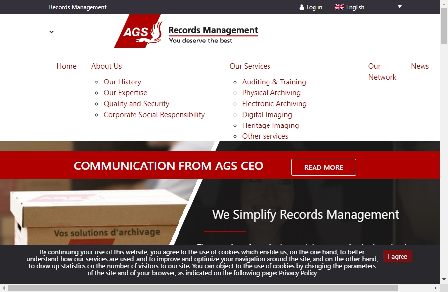 Archive Websites Designs 23