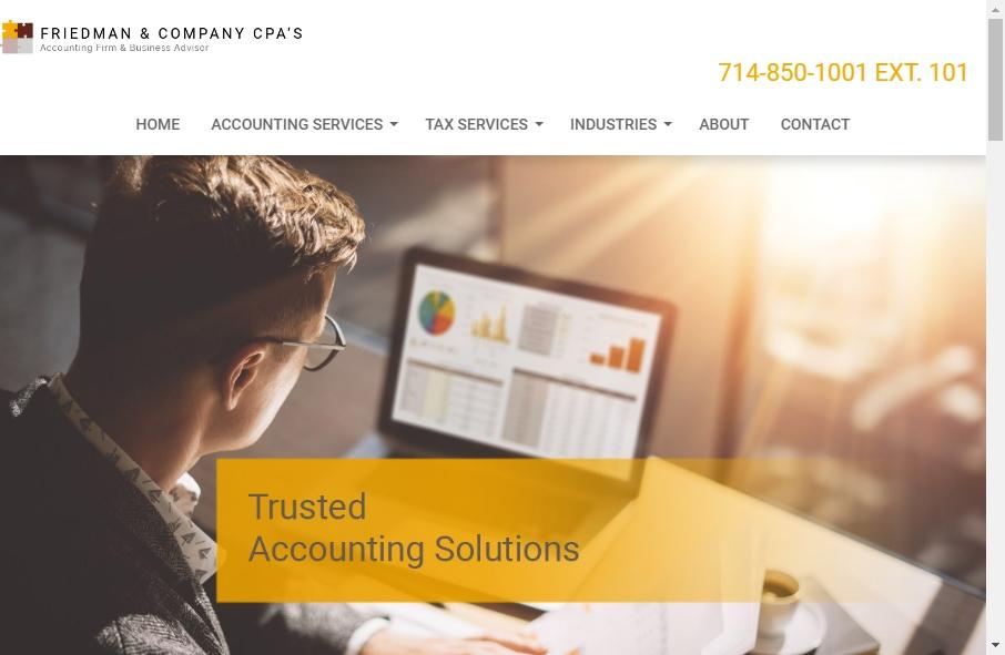 Accountants Websites Examples 23