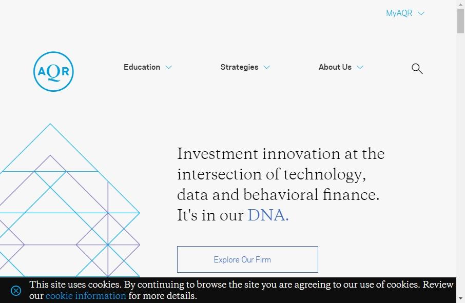 Hedge Fund Website Design 23