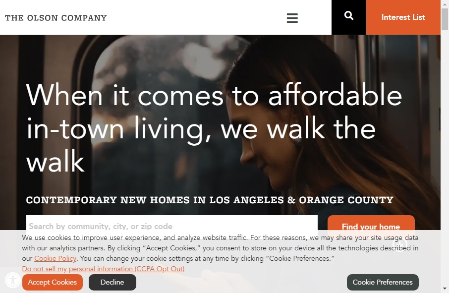 Home Builder Websites Examples 23