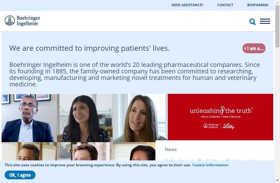 14 Best Pharmaceutical Website Design Examples for 2021 21