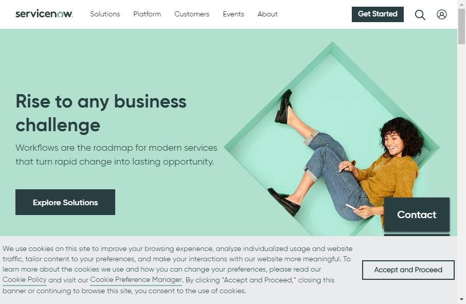Computer Software Websites Examples 23