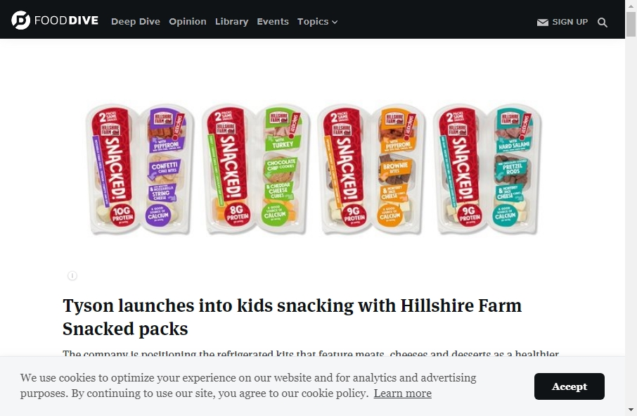 16 Examples of Food Product Websites With Fantastic Designs 22