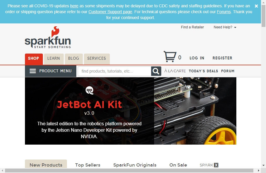 17 Great Electronics Website Examples 22