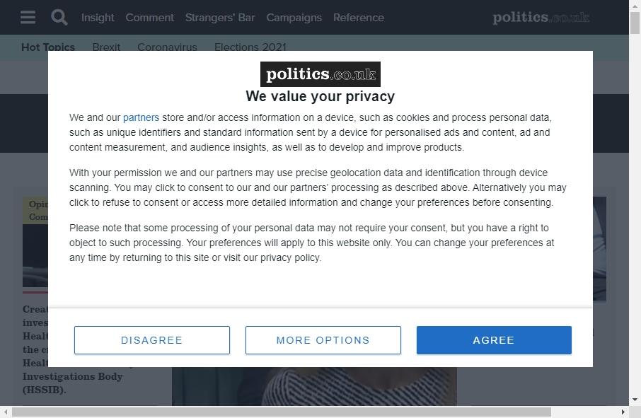 10 Examples of Politics Websites With Fantastic Designs 21