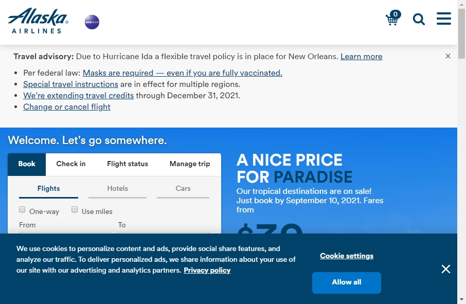 8 Examples of Inspirational Airlines Websites 21
