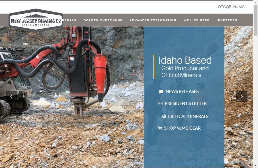 15 Mining Website Examples to Inspire Your Site 23