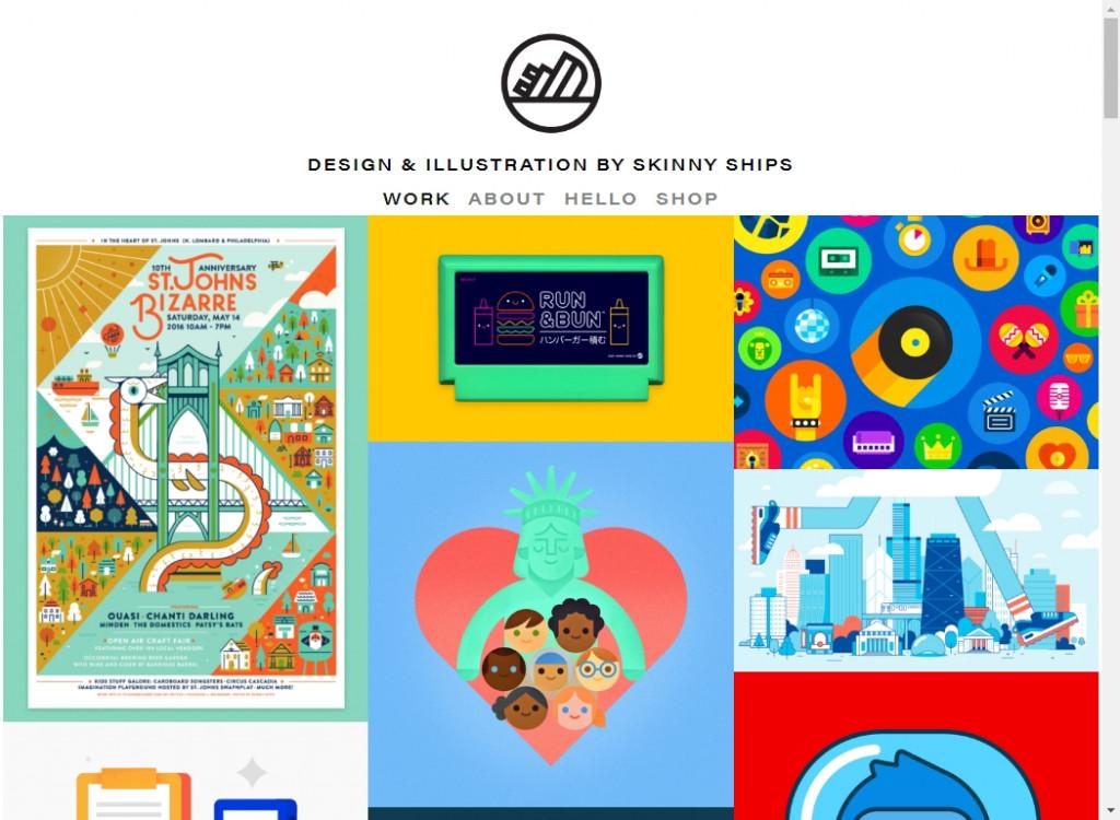 Flat Web Design Inspirations 23