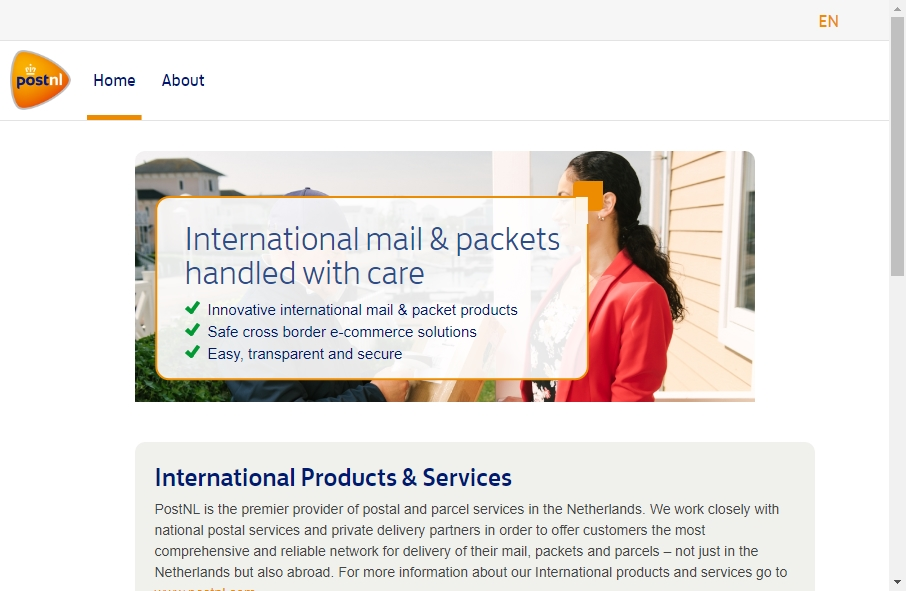 13 Great Postal Website Examples 23
