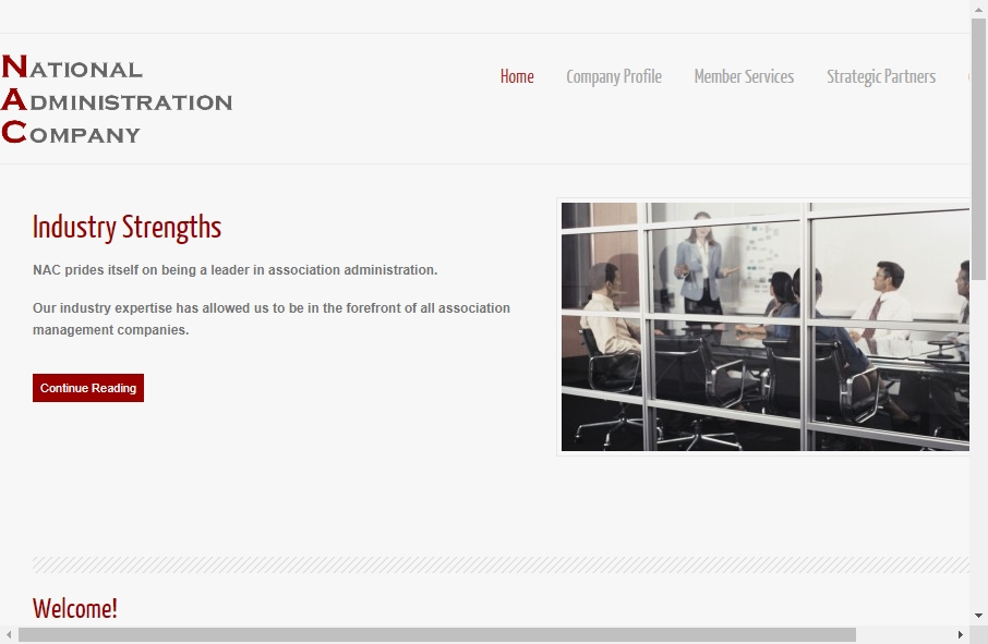 14 Great Administration Website Examples 22