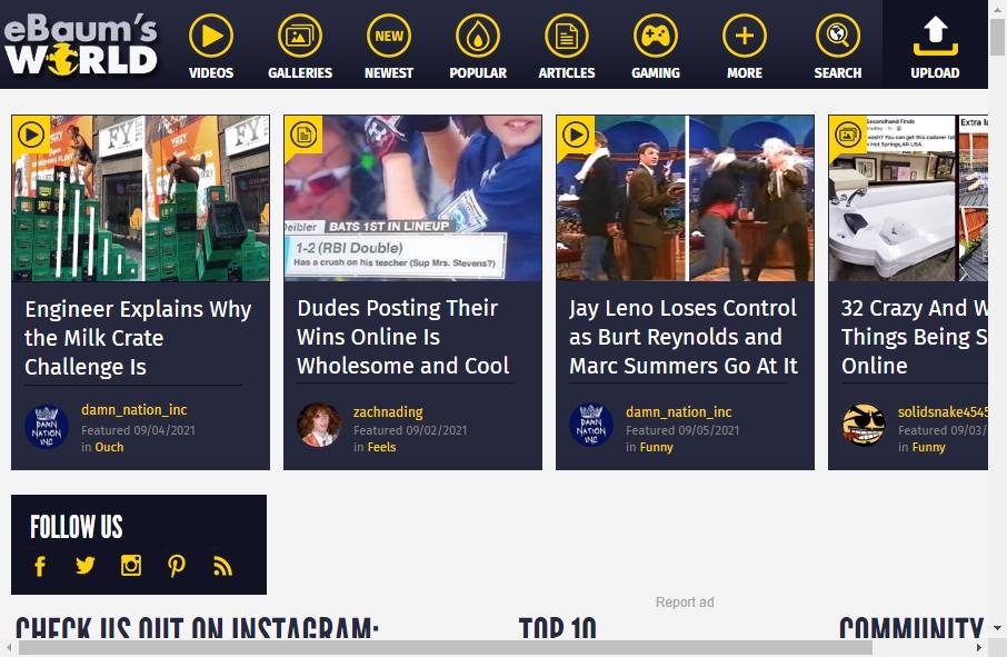 14 Examples of Inspirational Humor Websites 23