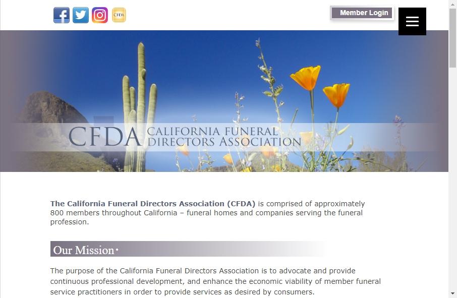Funeral Services Website Designs 21