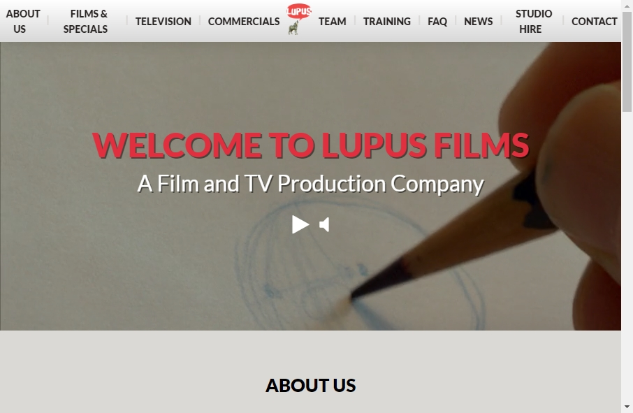 Great TV Production Website Examples 22
