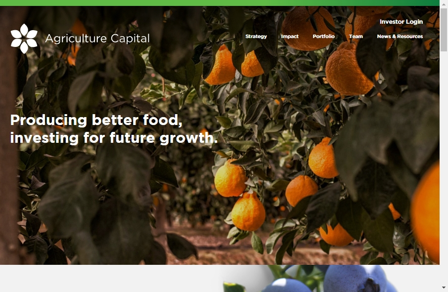 Agriculture Websites Examples 19
